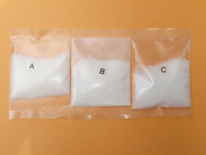 Três tipos de cloro